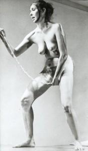 Carolee Schneeman. Vidaus ritinys