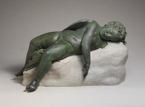 Miegantis Erotas. Graikija. III-II a. pr. Kr.