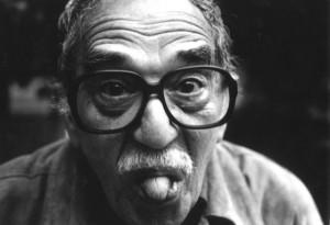 Gabrielis García Márquezas savo namuose Meksike. 2003. Indiros Restrepo nuotrauka