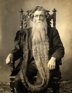 Kadaise ilgiausią barzdą pasaulyje turėjęs amerikietis Hansas Nilsenas Langsethas