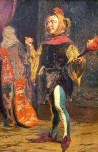 Thomas Davidson. Dvaro juokdarys. 1877