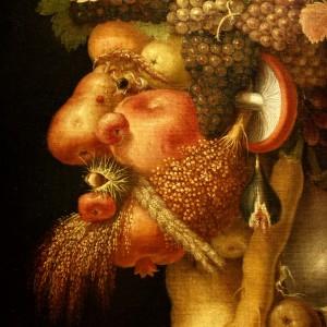 Giuseppe Arcimboldo. Ruduo (fragmentas). 1573