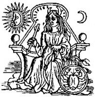 """Iliustracija iš Giordano Bruno """"Ars Memoriae"""". 1582"""