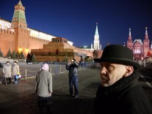 Vytautas Dubauskas Maskvoje, Raudonojoje aikštėje