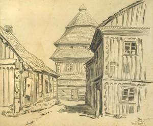 Mstislavas Dobužinskis. Šaukėnai. 1930
