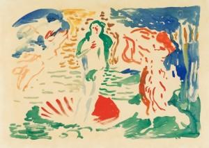 André Derain. Veneros gimimas (pagal Botticelli). 1905