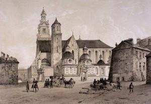Krokuva. Vavelio katedra.1843