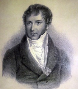 Mykolas Kleopas Oginskis (1765–1833). François Grenier (1793–1867) piešinys. Rietavo Oginskių kultūros centras