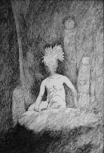 Vido Poškaus piešinys