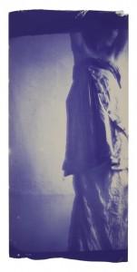 Francesca Woodman. Kariatidė 1. 1980