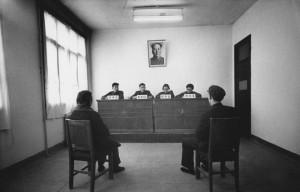 Marc Riboud. Skyrybos. Pekinas. 1965