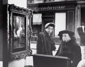 Robert Doisneau. Papiktinta dama. 1948
