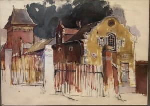 Gerardas Raitas Šatūnas. Rubenso namas. Belgija. 1993