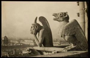 Alvin Langdon Coburn. Vaizdas nuo Paryžiaus katedros. 1905
