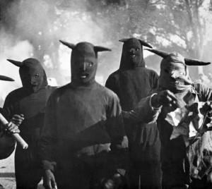 """Kati Horna. Be pavadinimo. Iš ciklo """"Huechocingo karnavalas. Puebla"""". 1941"""