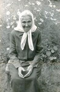 Pranė Grigaitė Ašašninkuose. Apie 1970–1975