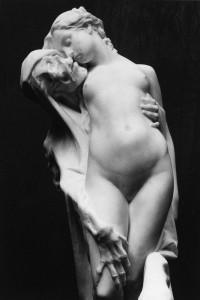 Pierre-Eugène-Émile Hébert. Mirtis ir mergelė. 1863
