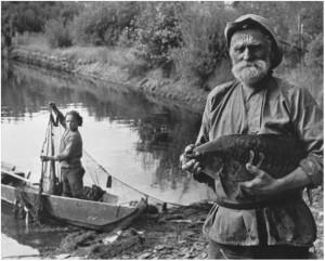 Dmitrij Baltermanc. Žvejys. 1950