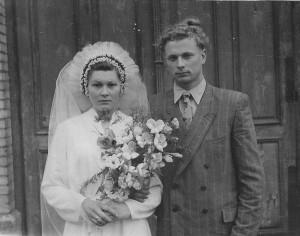 Danutė Balčiūtė ir Vytautas Balčius. 1959