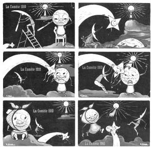 Pasaulio pabaigos atvirukai (1910-ųjų versija)
