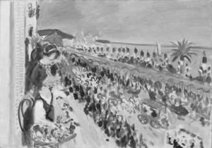 Henri Matisse. Gėlių šventė. Nica. 1923
