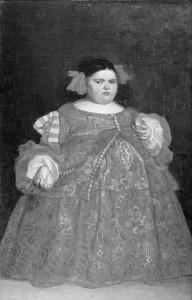 Juan Carreño de Miranda. Eugenia Martínez Vallejo. 1680