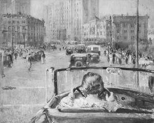 Jurij Pimenov. Naujoji Maskva. 1937