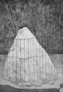 Dovilė Bagdonaitė. Sniego krūva. 2015
