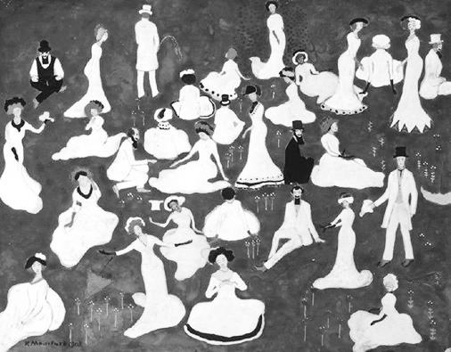 Kazimir Malevič. Piknikas. 1908