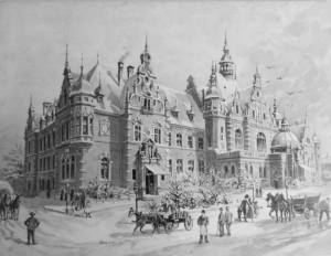 Senas Leipcigo piešinys. Autorės nuotrauka