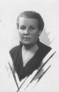 Marija Kuraitytė-Varnienė. Kaunas. Apie 1930