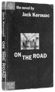 """Jacko Kerouaco romano """"Kelyje"""" pirmojo leidimo (1957) viršelis"""