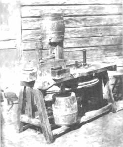 Gintaro dirbtuvės su vandeniu. Palanga. Apie XIX a. pab.–XX a. pr.