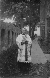 Kunigas Nikodemas Švogžlys-Milžinas. Nuotrauka iš Rolando Gustaičio kolekcijos