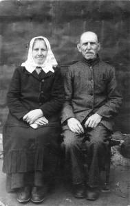 Jonas ir Ona Rudaičiai. Iki 1945. Iš Irmos Gavelienės archyvo