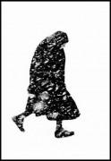 Thomas Hoepker. Pagyvenusi moteris pūgoje. 1954
