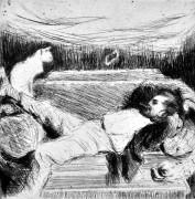 Max Slevogt. Meditacija. 1905