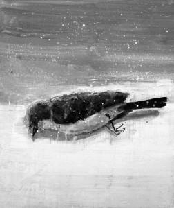 Viktoras Paukštelis. Miręs paukštis. 2018