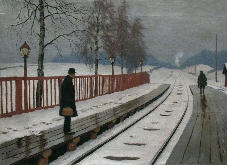 Michail Germašev. Daktaras stotyje. 1910