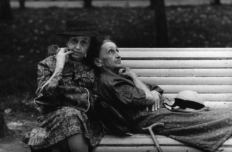 Andrej Kniazev. Jaunystės suoliukas. 1970