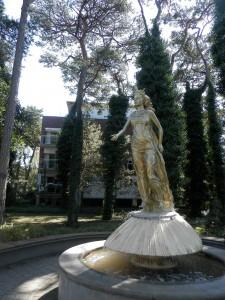 Jūratės paminklas Juratoje. Autoriaus nuotrauka