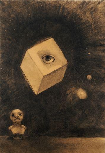 Odilon Redon. Akis. 1880