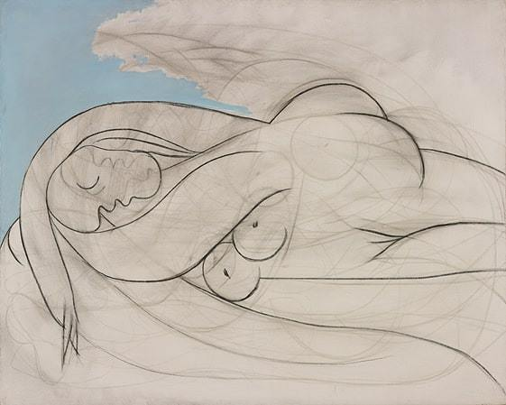 Pablo Picasso. Miegančioji. 1932