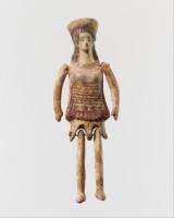 Lėlė. Korintas, V amžius prieš Kristų. Nuotraukos iš www.metmuseum.org