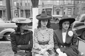Russell Lee. Merginos, laukiančios Velykų procesijos. 1941
