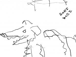 Algimanto Černiausko piešinys