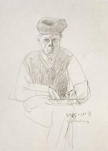 Povilas Ričardas Vaitiekūnas. Autoportretas. 1985