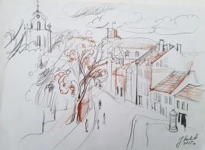 Autorės piešinys