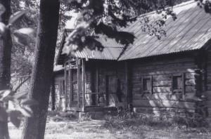 Gimtasis namas nuo Kryželių pusės. 1981.  Antano Gasperaičio nuotrauka