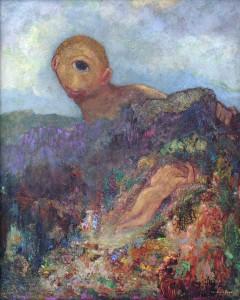 Odilon Redon. Kiklopas. 1914